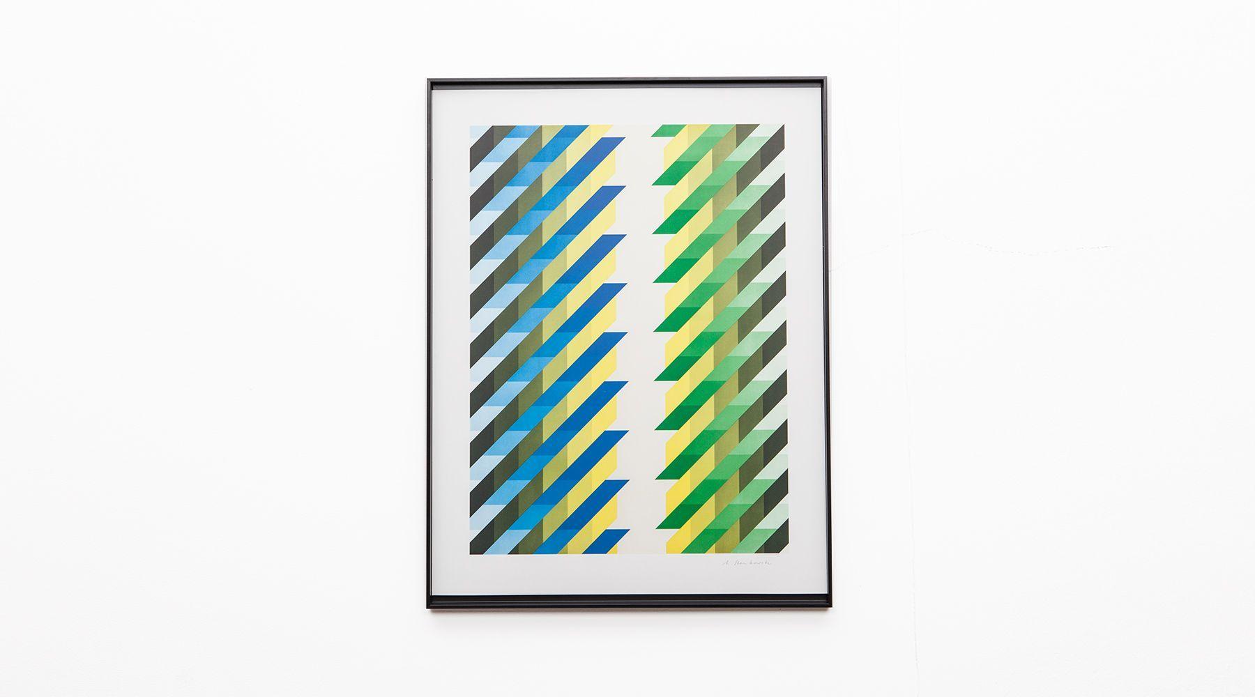 serigraphy a selected design objects fine art interior design frank landau. Black Bedroom Furniture Sets. Home Design Ideas