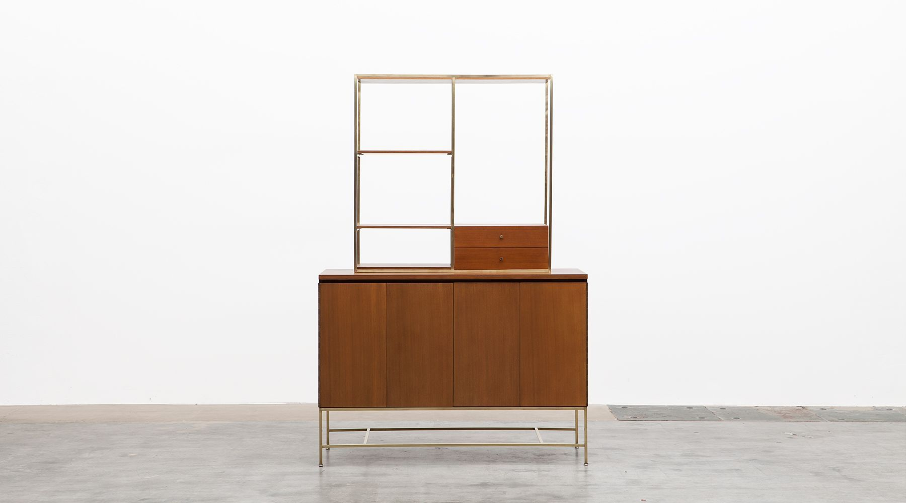 Sideboard with shelf