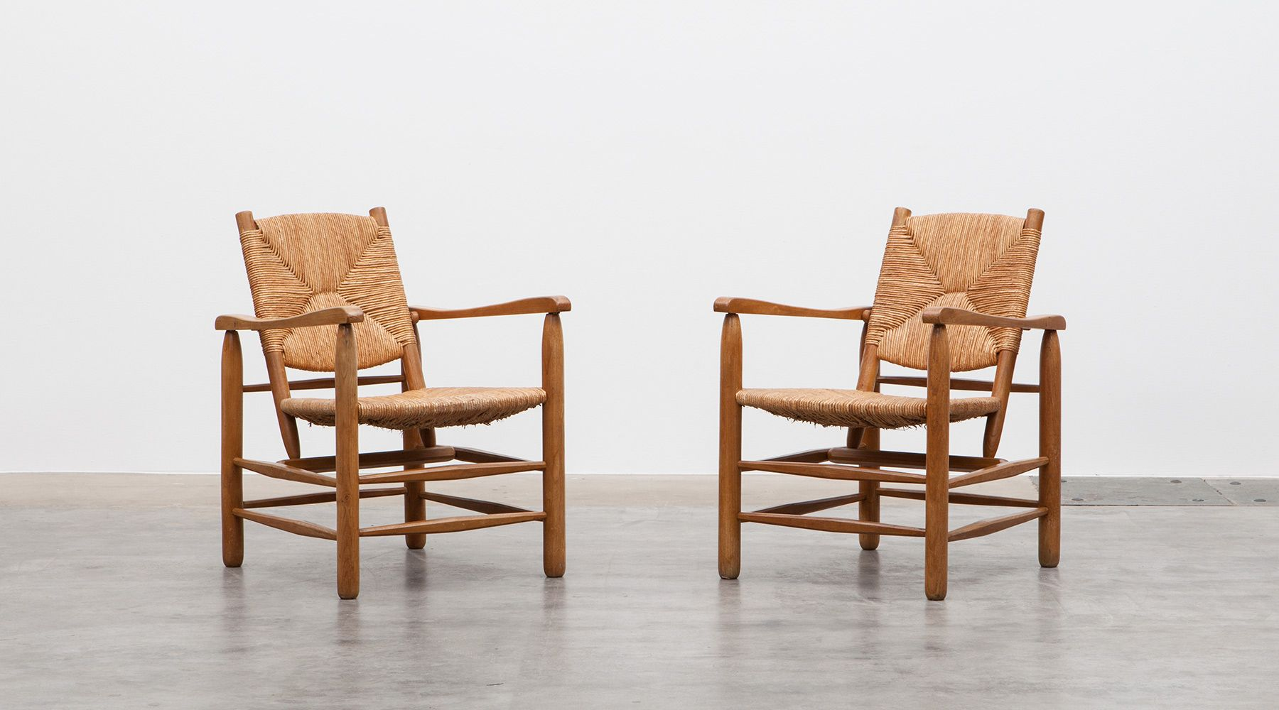 Brilliant Lounge Chairs 2 By Charlotte Perriand Frank Landau Inzonedesignstudio Interior Chair Design Inzonedesignstudiocom