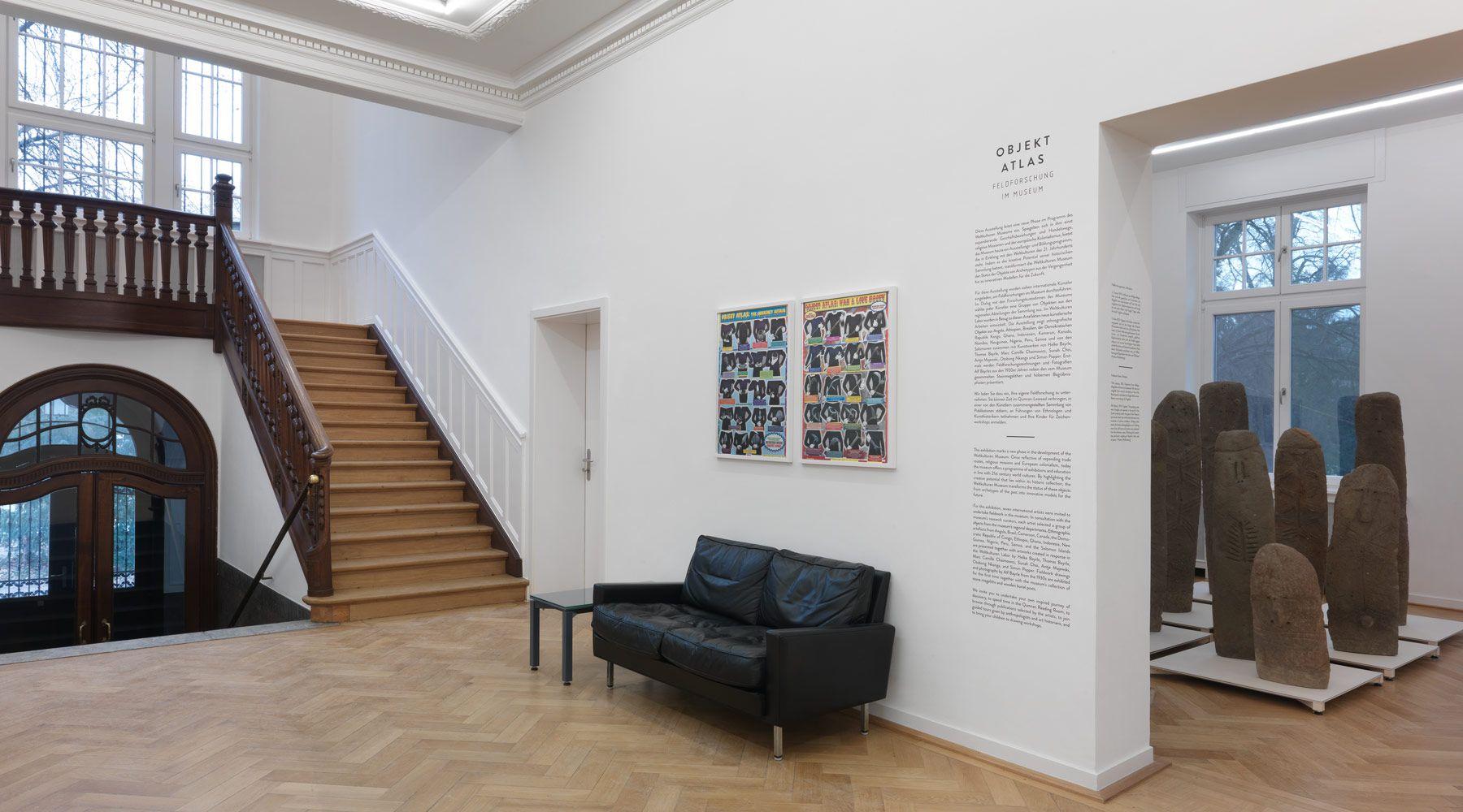 Frank landau interior for Design museum frankfurt