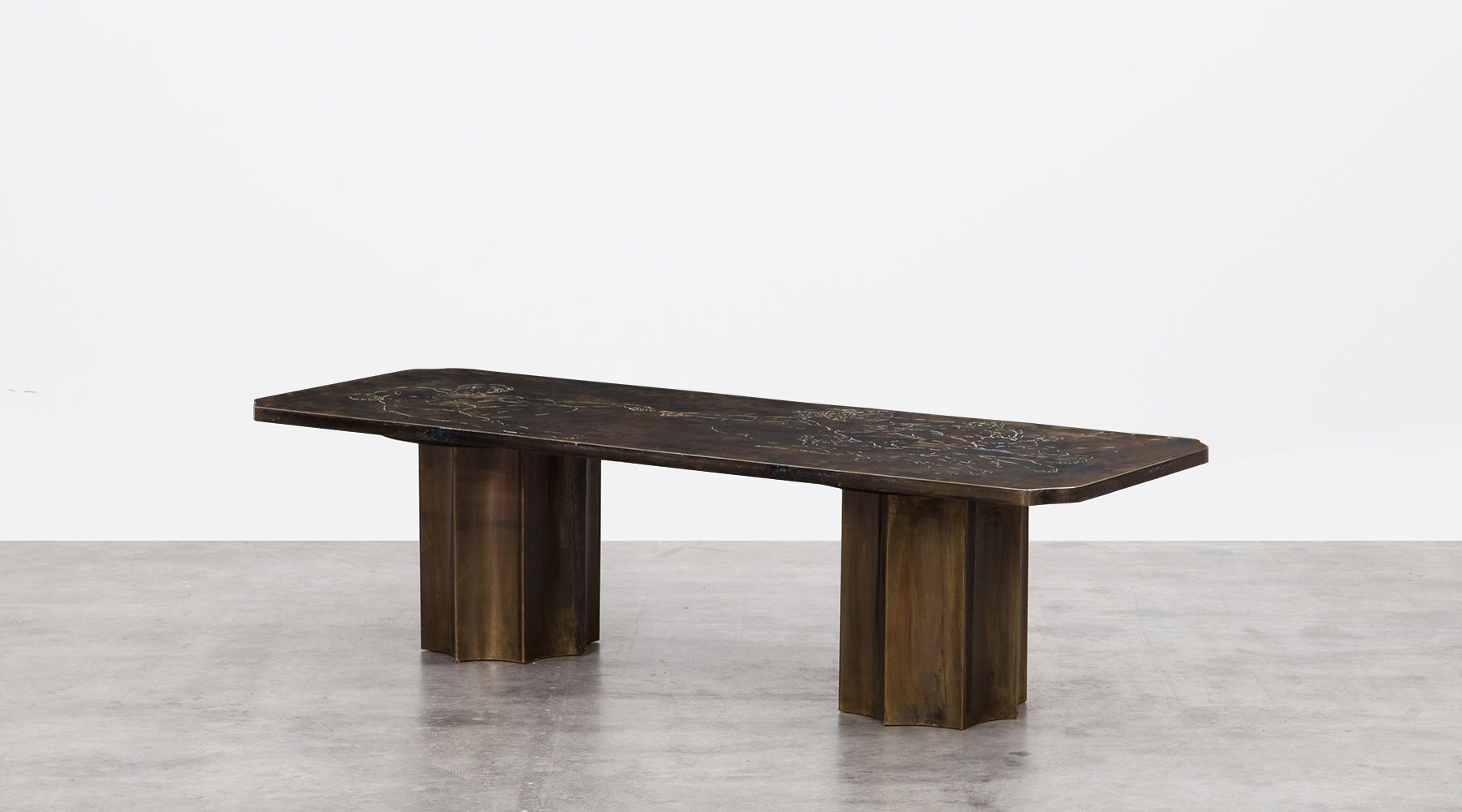 Philip Laverne Coffee Table.Coffee Table By Philip And Kelvin Laverne Frank Landau