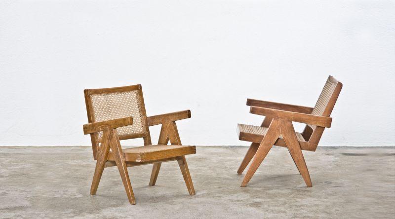 pierre jeanneret selected design objects fine art interior design frank landau. Black Bedroom Furniture Sets. Home Design Ideas